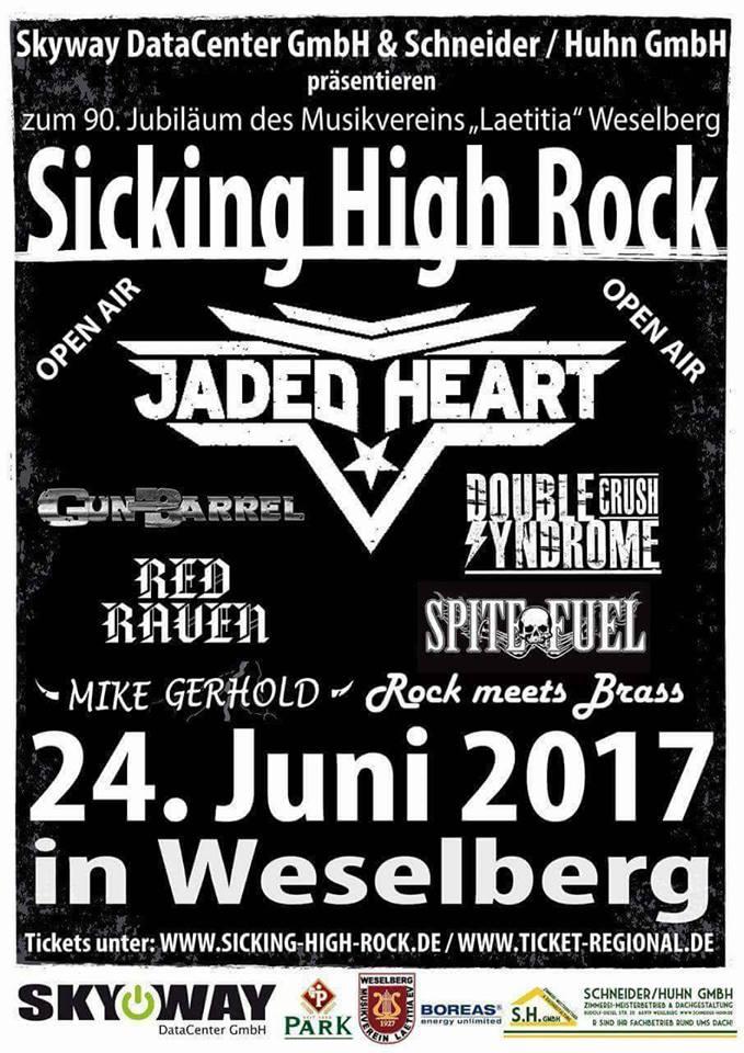[ Retrospektive ] Sicking High Rock 2017