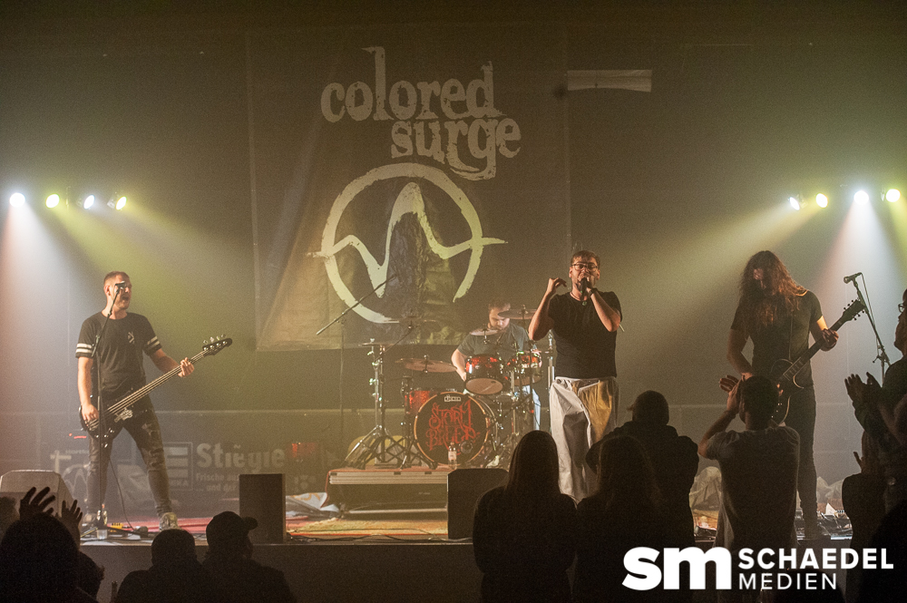Storm Breed/Brave New World/Colored Surge @Hallenbeben Halle101 Speyer 26.09.2020