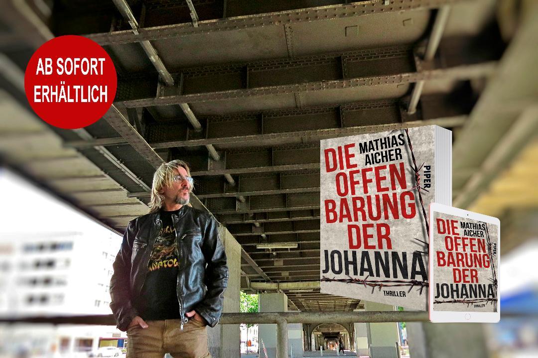 """""""Die Offenbarung der Johanna"""" – Mathias Aicher legt seinen neuen Thriller vor"""