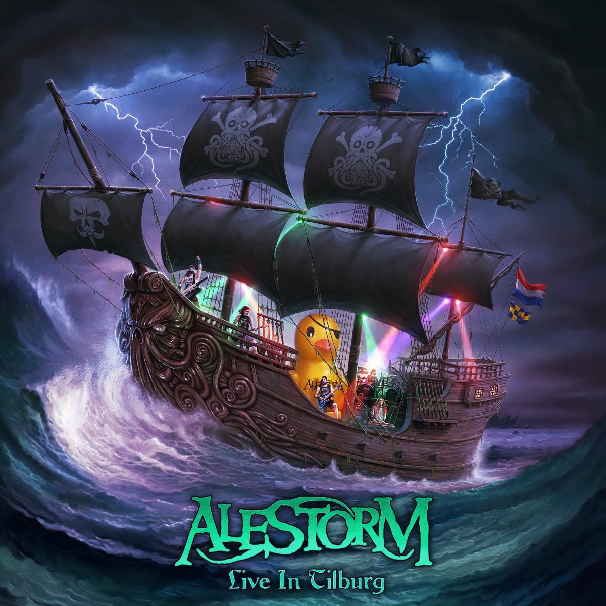 ALESTORM to Release New Live Album & DVD/BluRay, Live in Tilburg, on May 28!