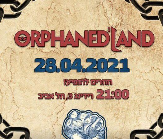 ORPHANED LAND kündigen Konzert an!