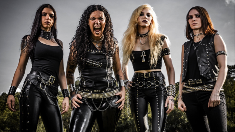 All female Death Metal Band CRYPTA startet durch