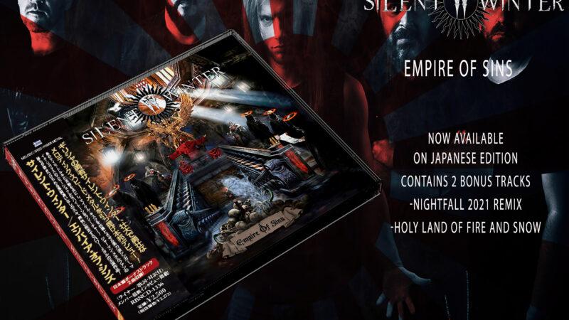 """Silent Winter veröfffentlichen eine japanische Edition von """"Empire of Sins"""""""